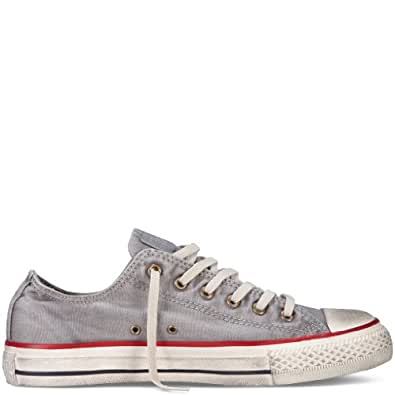 Converse Chuck Taylor All Stars OX Washed Shoes - Drizzle - UK 3