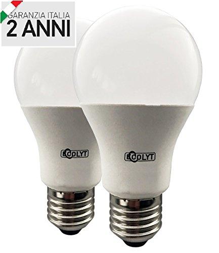 Lampadine Led Miglior Prezzo.Lampadine Led E27 15w Equiv 85w A Luce Calda Confezione Da 2 Pezzi
