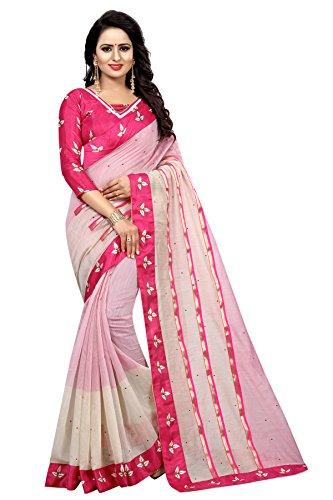 RadadiyaTRD Cotton Silk Saree With Blouse Piece (R Rajkumar_Yellow_Free Size)