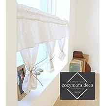 Hecho a mano algodón cortina, cortina de la cocina cenefas, Rural europeo mtong cortina