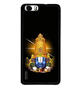 printtech Lord God South India Back Case Cover for Huawei Honor 6x