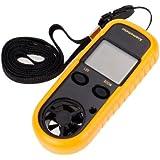 Generic GM816 LCD Digital Wind Speed Temperature Measure Gauge Anemometer
