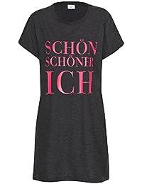 Nachthemd Damen Balea Schlafhemd Schlaf Shirt aus 100% Baumwolle Gr. S M L XL