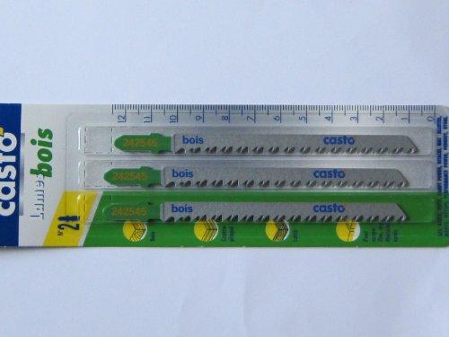 Preisvergleich Produktbild 3 Stichsägeblätter No 2 T-Schaft für Holz, Bosch Nummer T301 CD