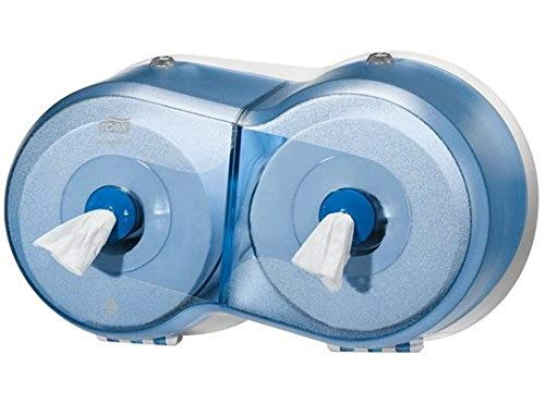 SCA Tork 472027 SmartOne Mini Doppelrollenspender für Toilettenpapier