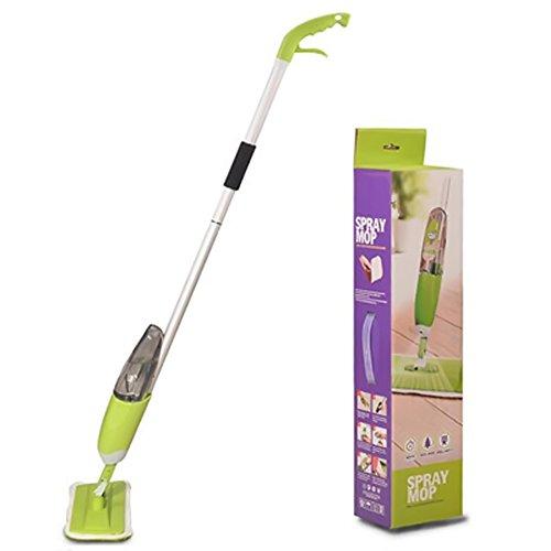 TopEUR Scopa lave spruzzo d'acqua spray per legno duro, laminato, legno, piastrelle bagnate e asciutte per la pulizia del pavimento della cucina a casa