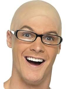 Bald Head Mens Womens Fake Skinhead Kojak Baldy Bald Head Fancy Dress WIG