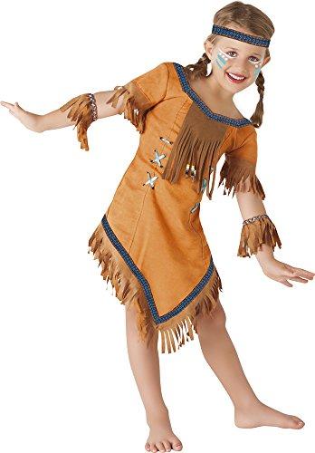 Imagen de rubie's  s8423 l  disfraz de india cherokee, para niñas, talla l  8 a 10 años