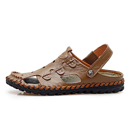 Men's Breathable Zapatos Chinelo Masculino Casual Sandal Kaki