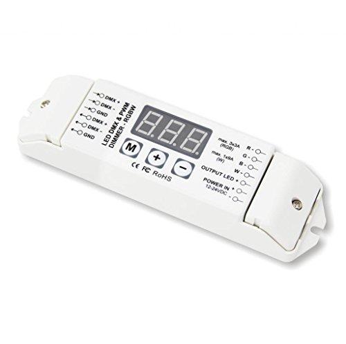 CV Constant Voltage RGBW DMX512 Signal Converter 4CH PWM 5v Signal Out Converter Decoder