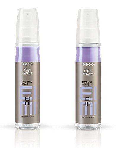 Wella 2x EIMI Smooth Thermal Image Hitzeschutz Spray 150 Ml