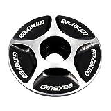 Delicacydex NUOVO Stelo da bici in alluminio senza filettatura 1/1-1/8 per bici da corsa Accessori Bici Cuffia da ciclismo per bicicletta Copri tappo superiore per la nuova marca
