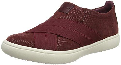 Rockport Ariell Cross Gore, Sneaker Donna Rosso (Merlot)