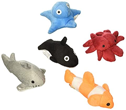 SEALIFE Assortment Plush Toys ( Bag of 24 Pieces - 3 inch )