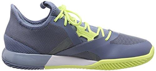 Adidas Adizero Defiant Bounce, Scarpe Courir Uomo Multicolore (gris Brut / Chaussures Blanc / Semi-glacé 0)