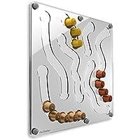 PlexiDisplays 143233 - Dispensador de cápsulas de Nespresso, color transparente