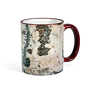 The Hobbit - Middle Earth Mug - Lord of the Rings & The Hobbit - Ceramic 300 ml