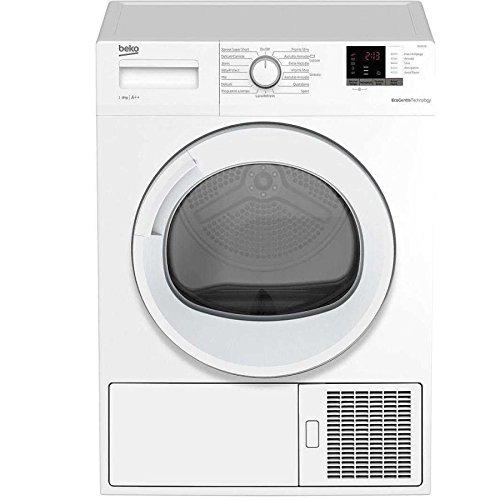 Beko drx822w  asciugatrice libera installazione carica frontale 8kg a++ bianco