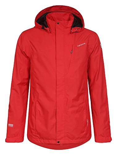 ICEPEAK Herren Jacket Stevie Coral-Red