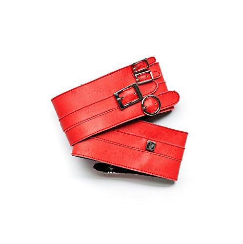 Molinis rot oder Glitzer Schwarz Schuh Zubehör Abnehmbare Schuh Dekoration für High Heels und komfortables gehen. Einheitsgröße, erhältlich in zwei Variationen Red