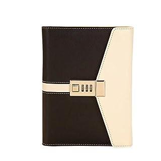 cuzit schwarz & gelb Business Sichtschutz Tagebuch Büro Secret Notebook Studenten Schreiben Buch