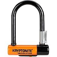 Kryptonite 5 Evolution Mini 5-Verschluss mit Griff, Schwarz/ Orange, One Size