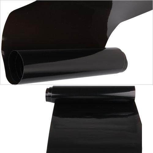 Scheinwerfer Folie Tönungsfolie Nebelscheinwerfer Schwarz 120 x 30 cm NEU
