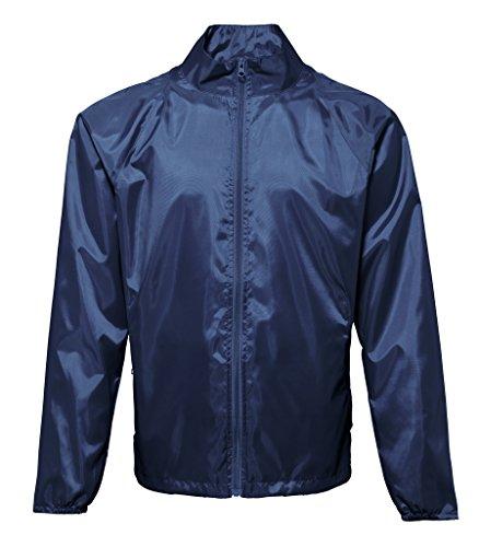 MAKZ Herren Mantel Blau - Navy