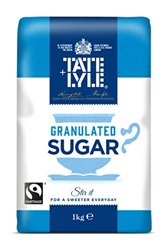Tate And Lyle Fairtrade Granulated Sugar, 1kg 41wVuDBkkKL