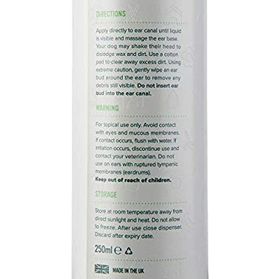 Pro Pooch Dog Ear Cleaner (250 ML) | Stop Itching, Head Shaking & Smell | Vet Recommended
