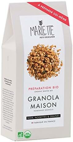 Marlette Préparation Bio pour Granola Maison 300 g
