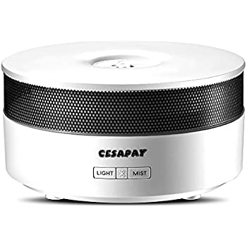 Ultrasonic Aroma Diffuser With Bluetooth Speaker
