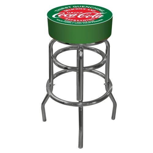 (Trademark Rot und Grün Coca Cola Pub Hocker)