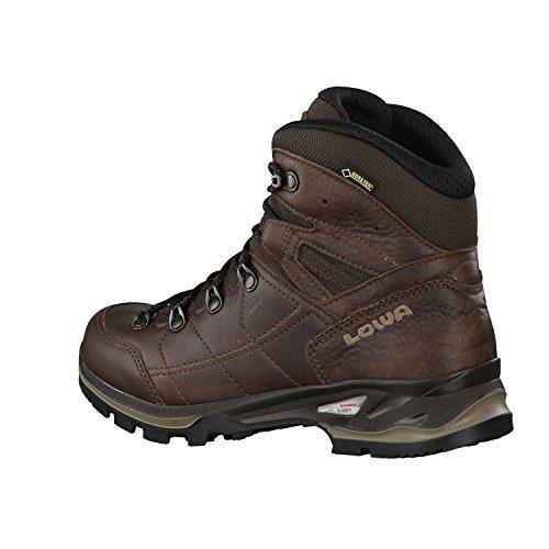 Lowa chaussures de randonnée pour femme de la marque hudson gTX mid 220676 Marron - Marron foncé