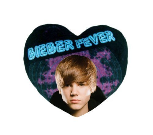 Kostüm Bieber Justin - Justin Bieber Heart Shaped Cushion by Other