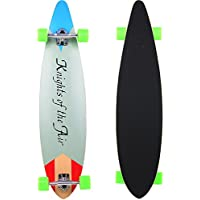 Vokul profesional completa Longboard Skateboard Cruiser (Azul)