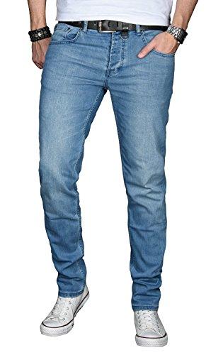 A. Salvarini Designer Herren Jeans Hose Basic...