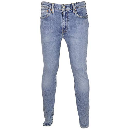 Levis Herren Jeans 519 Extreme Skinny 24875-0063 Blau, Hosengröße:34/32