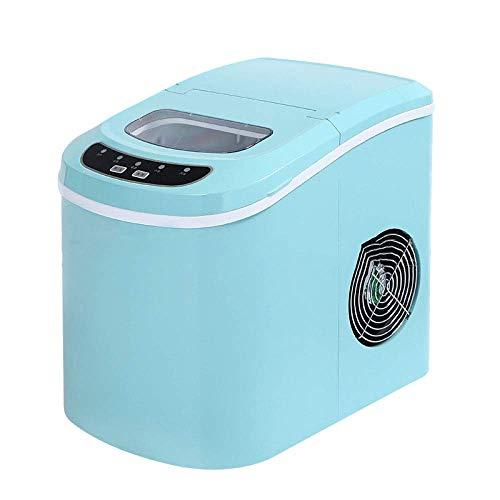 LMCLJJ Portable DIGITAL Ice Maker Machine mit Eisportionierer Erstes EIS in 8 Minuten 26 Pfund Täglich Großartig for Küchen Ladebügel Partys Kleine/Große Würfel (Machine Ice Maker 220v)