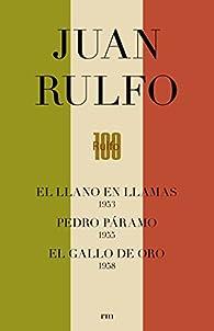 CAJA. EDICIÓN CONMEMORATIVA DEL CENTENARIO DE JUAN RULFO: Pedro Páramo. Llano en Llamas. Gallo de Oro par Juan Rulfo