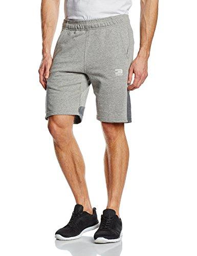 Jack & Jones-Pantaloni corti da uomo ccalm Sweat Pantaloncini, Uomo, Sweatshorts Ccalm Sweat Shorts, luce grigio melange, S