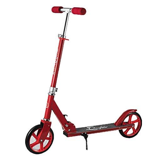 Scooter Infantil de Tres Ruedas. Scooter & Scooter & Coche Plegable y Scooter Plegable de Dos Ruedas Diseño Plegable con asa Ajustable y construcción l