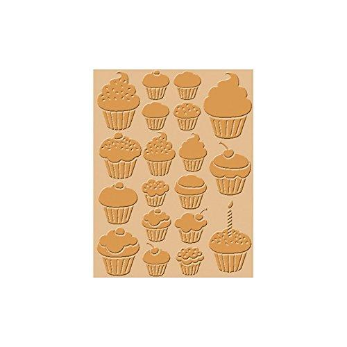 Craft Conc Cupcakes Prägeschablone