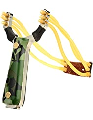 Beauty*Top*Picks New Outdoor Hunting Powerful Steel Catapult Slingshot Marble Hunting Games Sling Shot