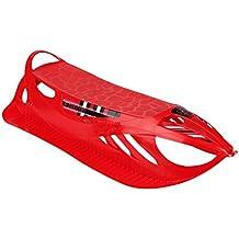 Plastkon Schlitten Firecom - Trineo de nieve, color rojo, talla One Size