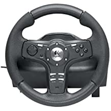 Logitech Driving Force EX PS3 - Volante/mando (Ruedas + Pedales, Sony PLAYSTATION3