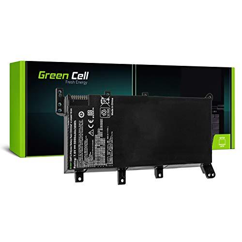 Green Cell C21N1347 Laptop Akku für ASUS A555 A555L F555 F555L F555LD K555 K555L K555LD R556 R556L R556LD R556LJ X555 X555L (Li-Polymer Zellen 5000mAh 7.6V Schwarz)