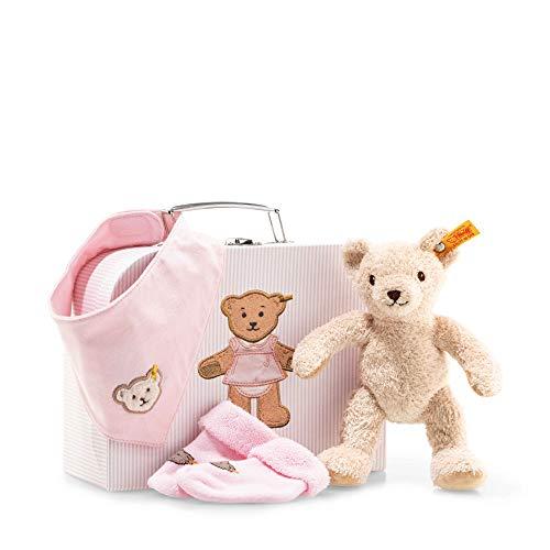 Steiff 241222 Geschenkset Girl 4 tlg, rosa