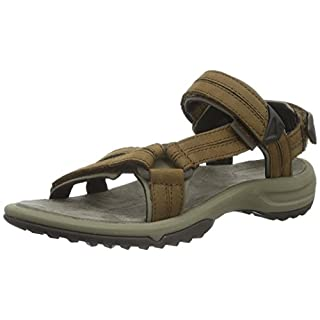 Teva Women's Terra Fi Lite Leather Sports and Outdoor Hiking Sandal, Brown, 6 UK (39 EU)