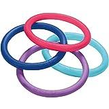 BECO Aqua Ring / Universal Ring verschiedenfarbig (Farbe zufällig je nach Verfügbarkeit) mit mittlerem Auftrieb im Tiefwasser und Flachwasser geeignet für Aquatic Fitness, Rehabilitation, Animation und Schwimmuntericht
